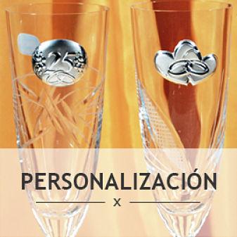 Categoría productos personalizados para bodas y aniversarios